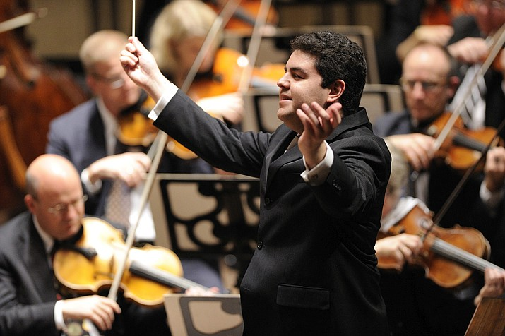 Phoenix Symphony Musical Director Tito Munoz will be conducting each of the symphony's seven concerts at Yavapai College Performing Arts Center. The season begins at 3 p.m. Sunday, Sept. 17, with music by Tchaikovsky, Bernstein and Stravinsky.