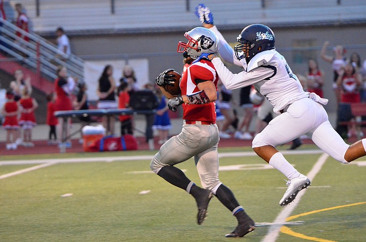 Higley brought down Mingus in the season opener two years in a row. (VVN/Vyto Starinskas)