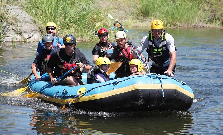 The state champion Yavapai County Sheriff's Response Team Backcounty Unit consists of Josh Schmidt, Dan Hughart, Curt Freeman, Tim Wielinski, Scott Mahon and Ryan Viscket. Photo courtesy of YCSO.