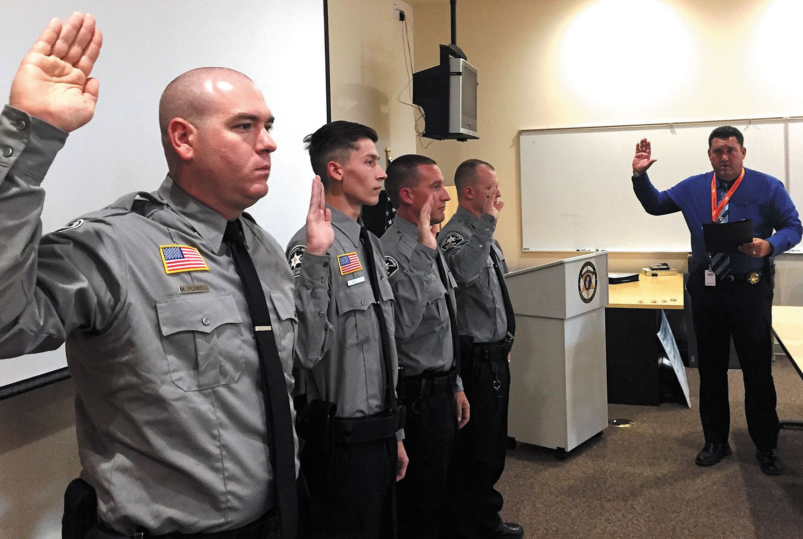Mohave County Sheriff S Office Graduates 4 Detention