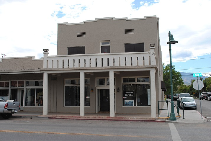The building at the corner of Main and Pinal in Cottonwood has been a hotel for 100 years. The business began during 1917. VVN/Jennifer Volpe
