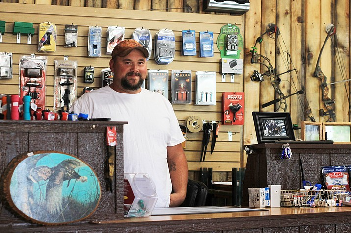 Kevin Overfield is the owner of the new Juniper Creek Outdoors store in Williams.