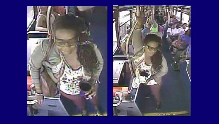 Police in Washington say this woman urinated in a cup on a bus and then poured it on the driver. (Metro Transit Police)