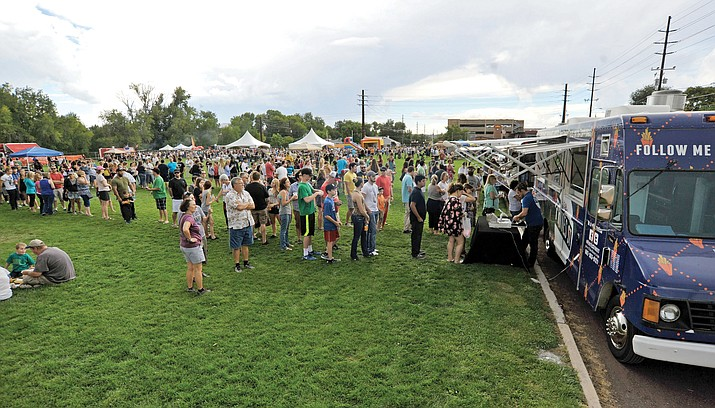 The Food Truck Festival returns to Mile High Middle School's football field Saturday, Sept. 2, from noon to 6 p.m. (Courier file photo)