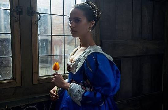"Alicia Vikander stars in ""Tulip Fever."" (The Weinstein Company/imdb)"