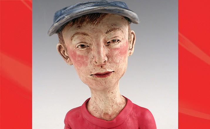 """Portrait Cup"" byJane Kelsey-Mapelat ARC Contemporary Fine Art @ The Manheim"