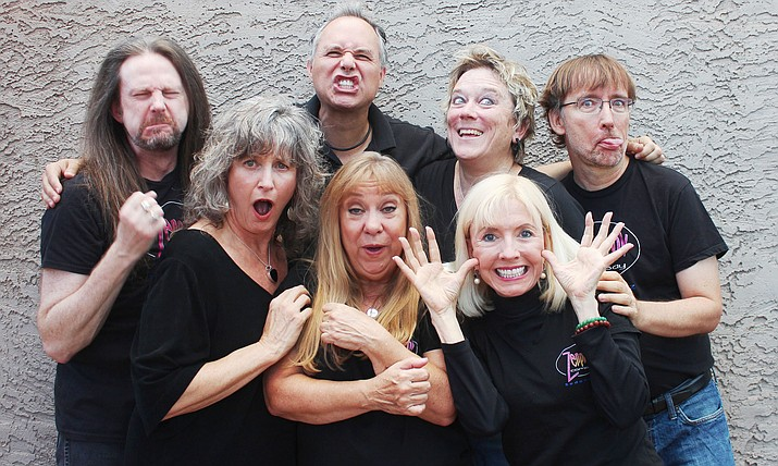 The super minds of Zenprov Comedy are Derek Dujardin, Shaeri Richards, Chris Redish, Tom Shoemaker, Shaunn Cochran, Betty Testa, Linda Roemer and Mary Carder.