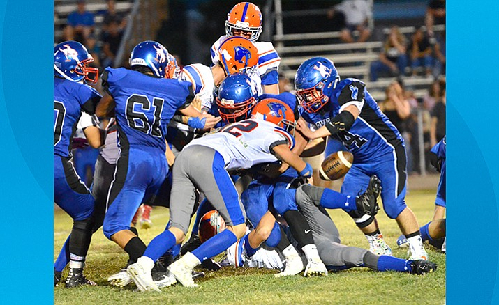 Camp Verde football dropped their first two games of the season. (VVN/Vyto Starinskas)