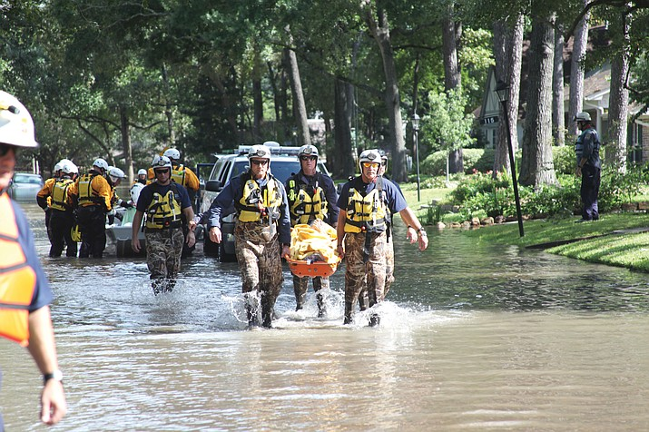 Rescuers have fanned out across neighborhoods searching for survivors and bodies. As of Friday, the confirmed death count was 47.