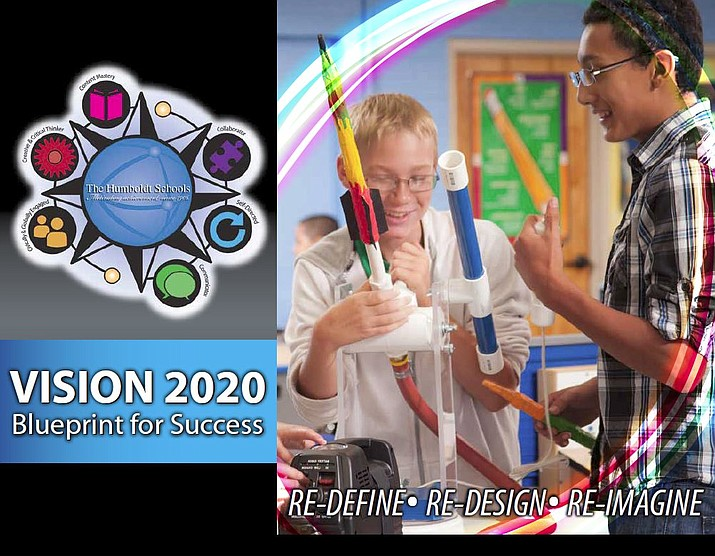 Humboldt Unified School District's Vision 2020 project identified four goals to transform the district for the future. (HUSD/Courtesy)