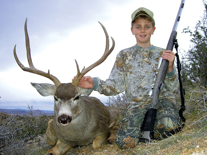 Did you send in comments about the G&F proposal to end juniors muzzleloader hunts in Unit 16A? Young men like this 13-year-old hunter may not get to hunt deer with a muzzleloader after the Commission meeting last Friday in Williams.