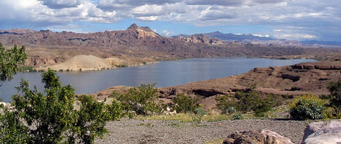 Lake Mohave is a reservoir on the Colorado River created in 1951 following the completion of Davis Dam near present-day Laughlin and Bullhead City. A 38-year-old California man died on the lake Saturday during the storms that hit the area.
