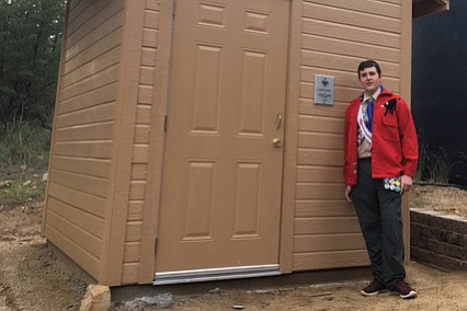 Cameron J. Weber, has received his Eagle Scout Award through Troop 6 in Prescott, Arizona on May 4, 2017.