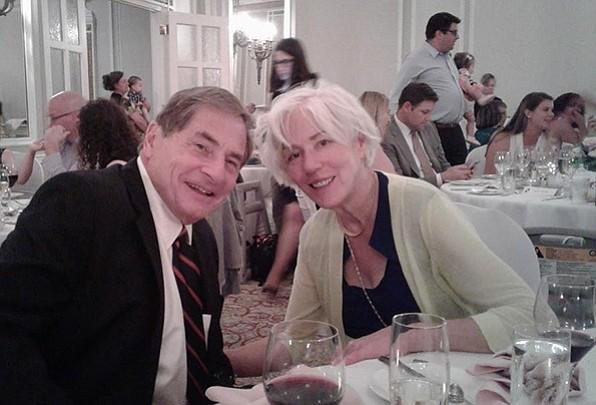 A photo of Bob Hampton and his wife Laura. (Chris Howard/Courtesy)