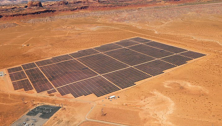 Navajo celebrate first large-scale solar farm on Nation