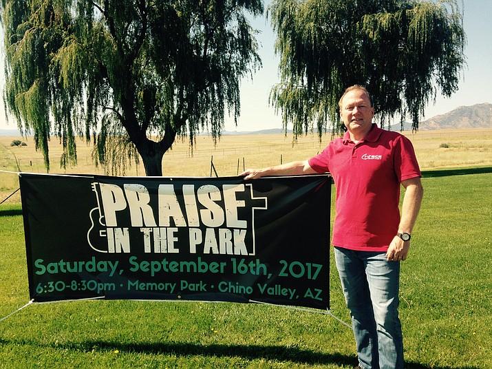 "Pastor Guy Deckard of Grace Baptist Church is sponsoring ""Praise in the Park,"" scheduled for Sept. 16 in Memory Park. (Diane DeHamer/Review)"
