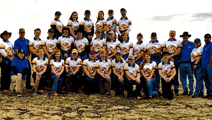 The 2016-17 Prescott Bird Busters shooting sports team finished a solid season in August. Shooter registration for the 2017-18 season begins on Sept. 10. (Prescott Bird Busters/Courtesy)
