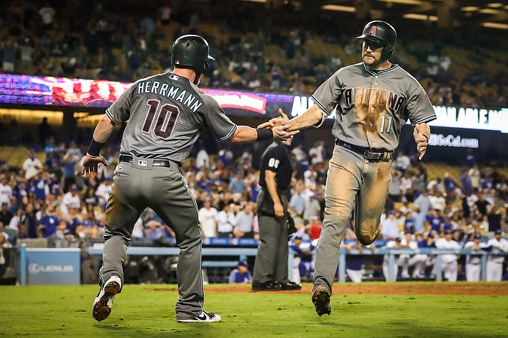 With a 3-1 win Wednesday, Arizona equaled its franchise record for most consecutive wins set in June 2003. The victory earned the Diamondbacks their first season series win over Los Angeles since 2013.