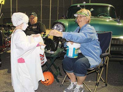 """The Route 66 Cruizers are hosting """"Cool Kingman September Nights"""" at 4 p.m. Saturday to raise funds for the club's 15th annual Halloween Bash for children."""