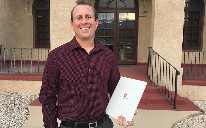 Ben Kramer is the newest member of the Clarkdale Town Council. VVN/Halie Chavez