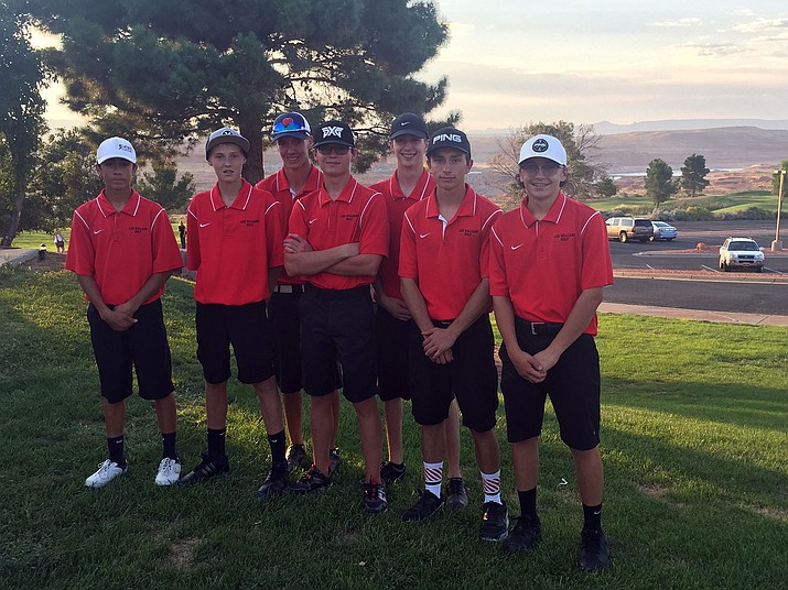 The Lee Williams boys golf team shot a 29-over-par 173 to defeat Bradshaw Mountain, Coconino and Page.