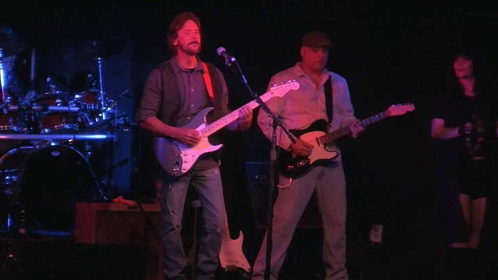 Tom Rubino, guitarist and vocalist, in The Ultimate Eric Clapton Tribute Show.