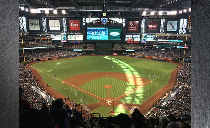 The Town of Camp Verde Parks & Recreation puts on monthly trips to Chase Field in Phoenix for Arizona Diamondbacks games. The trips have grown in popularity with the last two selling out. They cost $50.  (Photo by Bill Helm)