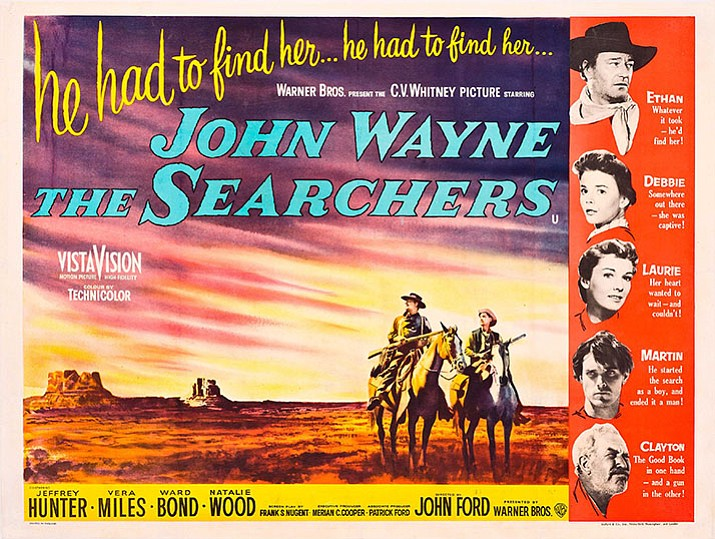 Many film critics consider John Ford's The Searchers from 1956 to be the best western ever.
