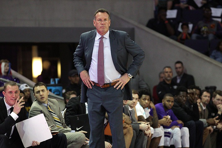 Coach Dan Majerle is excited Grand Canyon is finally a part of Division I. The Antelopes are eligible for the NCAA Tournament this year. (Photo by (Zuriel Loving/Cronkite News)