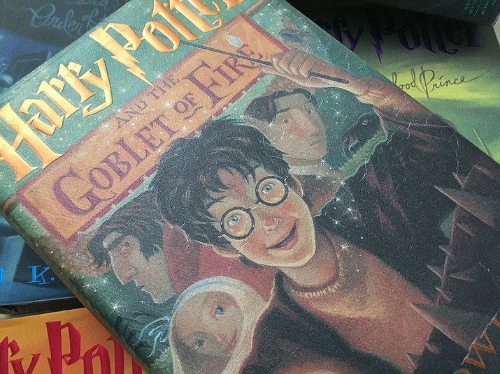 St. Cloud State University professor Carolyn Hartz is applying Aristotle's work on friendship to character relationships in J.K. Rowling's Harry Potter books about the boy wizard. (Richard Haddad/WNI)