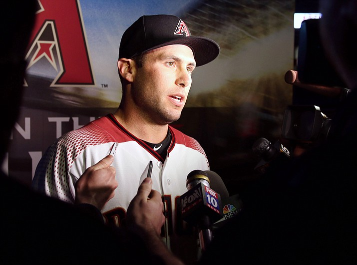 Diamondbacks first baseman Paul Goldschmidt finds the 2017 version of the Diamondbacks dramatically different from the 2016 one. (Cronkite News)