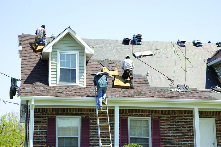 Roofing crews provide a service but there are storm-chasing roofing companies out for insurance money. (File images)