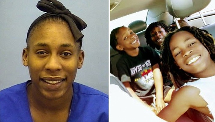 "New Mexico's Bernalillo County Sheriff's Office issued the Amber Alert reporting that Laria Walker-Anderson had ""abducted"" her three boys early Sunday morning and was last seen traveling west on Interstate 40 from Albuquerque at 4 a.m. BCSO officials expressed concern that the mother may be armed with a gun and the boys could be in ""imminent danger."" (Bernalillo County Sheriff's Department)"