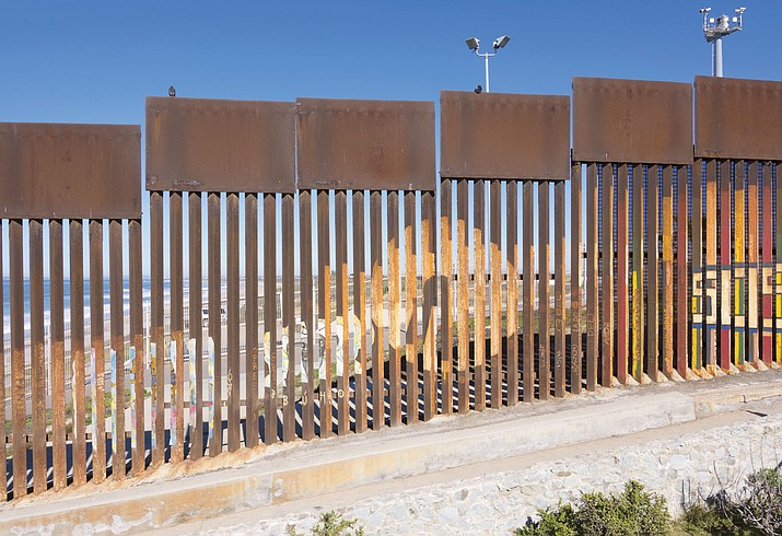 A Border Patrol agent responded to rocks being thrown over the border fence by firing his weapon. (Stock)