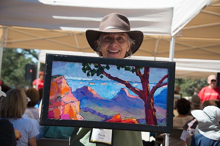 Artists have two hours to begin and complete a painting for the Quick Draw demonstration Sept. 16. Paintings will then be auctioned off with proceeds benefiting a fund to establish  a permanent art venue on the South Rim.