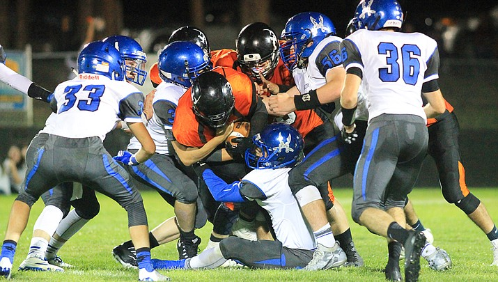 Bagdad tops Williams with Hail Mary, 28-24