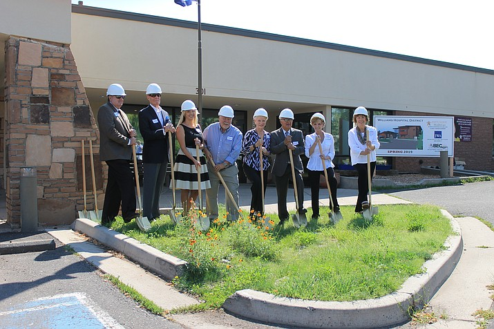 Construction for a new clinic will begin in spring 2018.