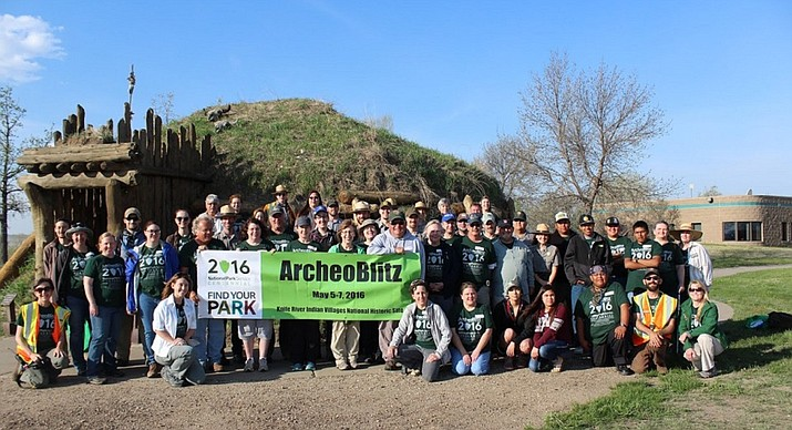 "A previous grant was used by the State Historical Society of North Dakota to host an ""ArcheoBlitz"" at Knife River Indian Villages National Historic Site."