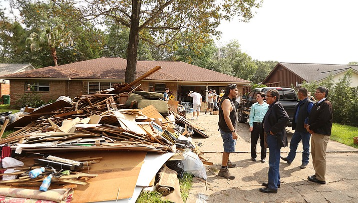 Navajo Nation helps with relief efforts in the wake of Hurricane Harvey