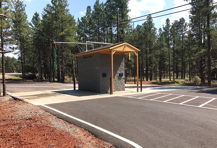 Bearizona has now opened a water station at the park.