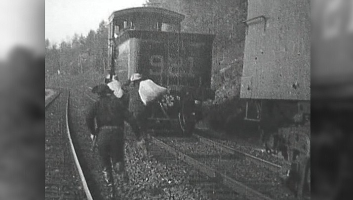 The Great Train Robbery of 1903 was considered to be the first commercially successful western movie.