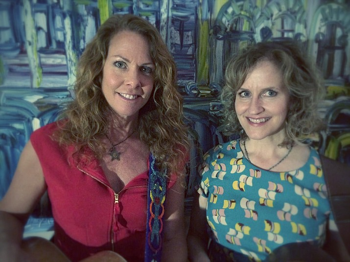 Sally Barris and Rebecca Folsom are set to perform at the Elks Theatre in downtown Prescott Saturday, Sept. 16. (Courtesy)