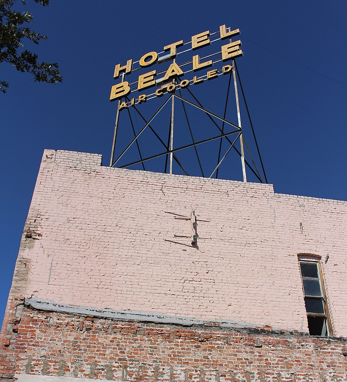 Hotel Beale, a historic downtown Kingman landmark at 325 E. Andy Devine Ave., has been closed since 2012 and is in a severe state of disrepair. It would be a great attraction for tourists if open, but at this point, it's detracting from new development and the appearance of downtown.