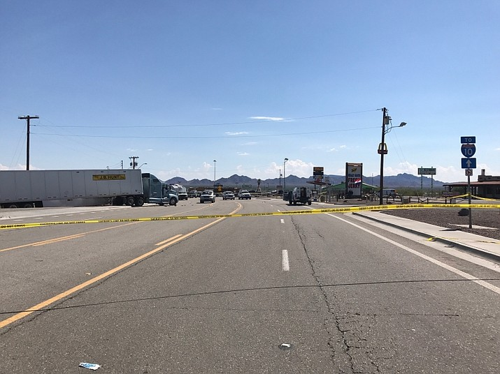 Rodolfo Ballardo, 31, from Wasco, Calif., was shot and killed by Border Patrol agents after he hijacked this semi-tractor trailer and repeatedly fired a weapon at BP agents and DPS troopers, authorities said. (U.S. Border Patrol photo)