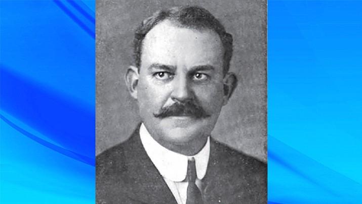 Dwight B. Heard, member of Arizona's wartime Council of Defense in 1917, c. 1913. Owned Arizona Republican (now Republic) from 1912-1929; also namesake of Heard Museum. (Public domain)