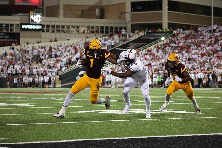 Despite an 18-point rally, the Sun Devils fell to Texas Tech Saturday night, 52-45.