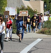 Sizable crowd shows up for Prescott's first Unity March photo