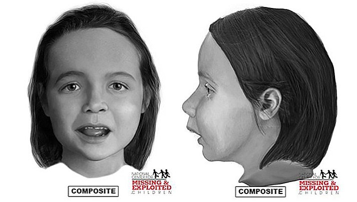 Composite sketches provided by National Center for Missing and Exploited Children.