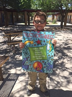 Del Rio School Fourth-grader Ethan Jensen is the CVUSD Student of the Week.