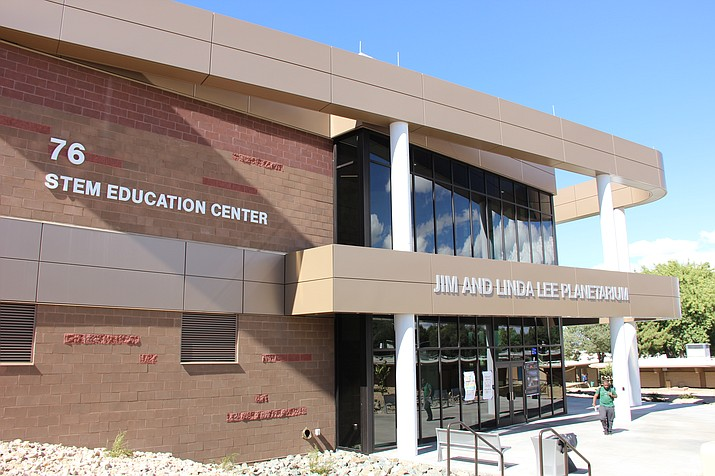 Embry-Riddle Aeronautical University's brand-new STEM Education Center has just started seeing use by students and faculty at the start of this school year. (Max Efrein/Courier)